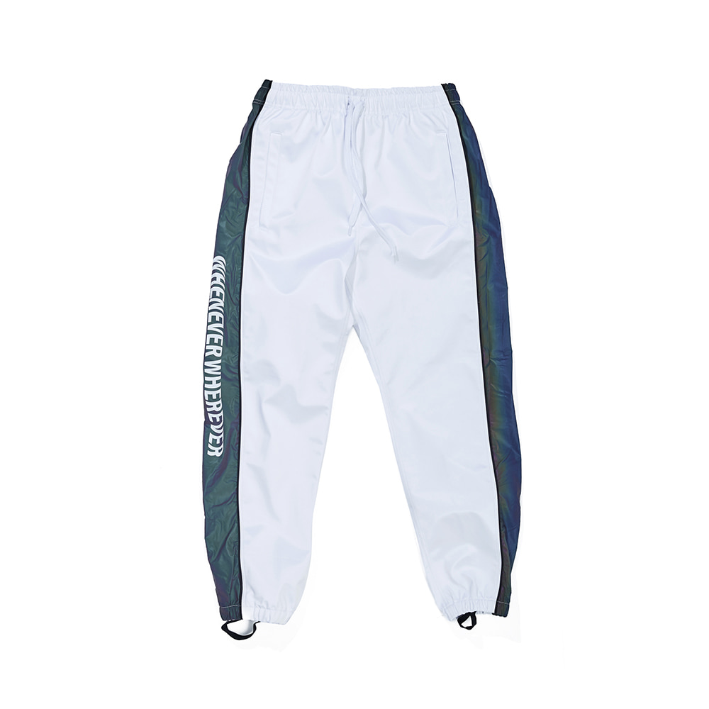 WW SHINE JOGGER PANTS WHITE