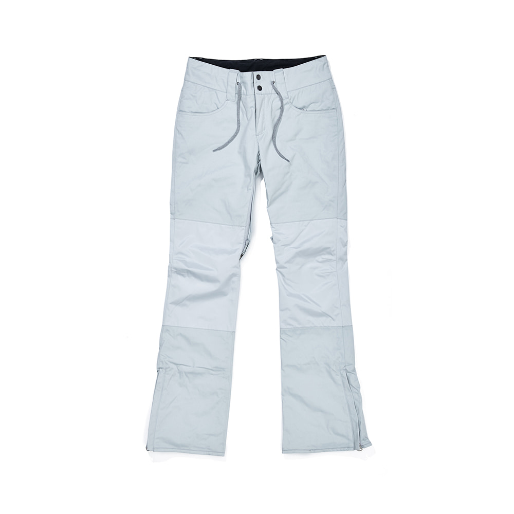 BSR WOMENS VERY SKINNY PANTS SNOW GRAY