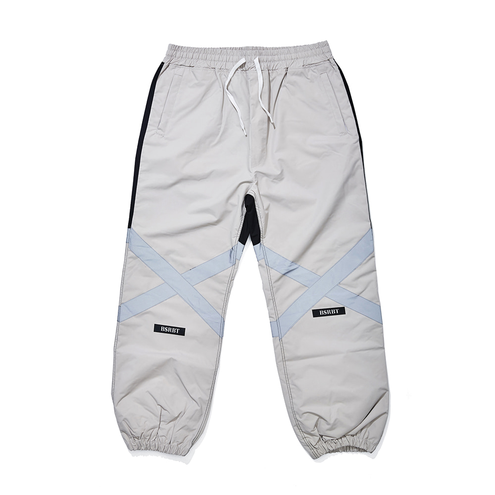 POT-X REFLECTIVE JOGGER PANTS BEIGE