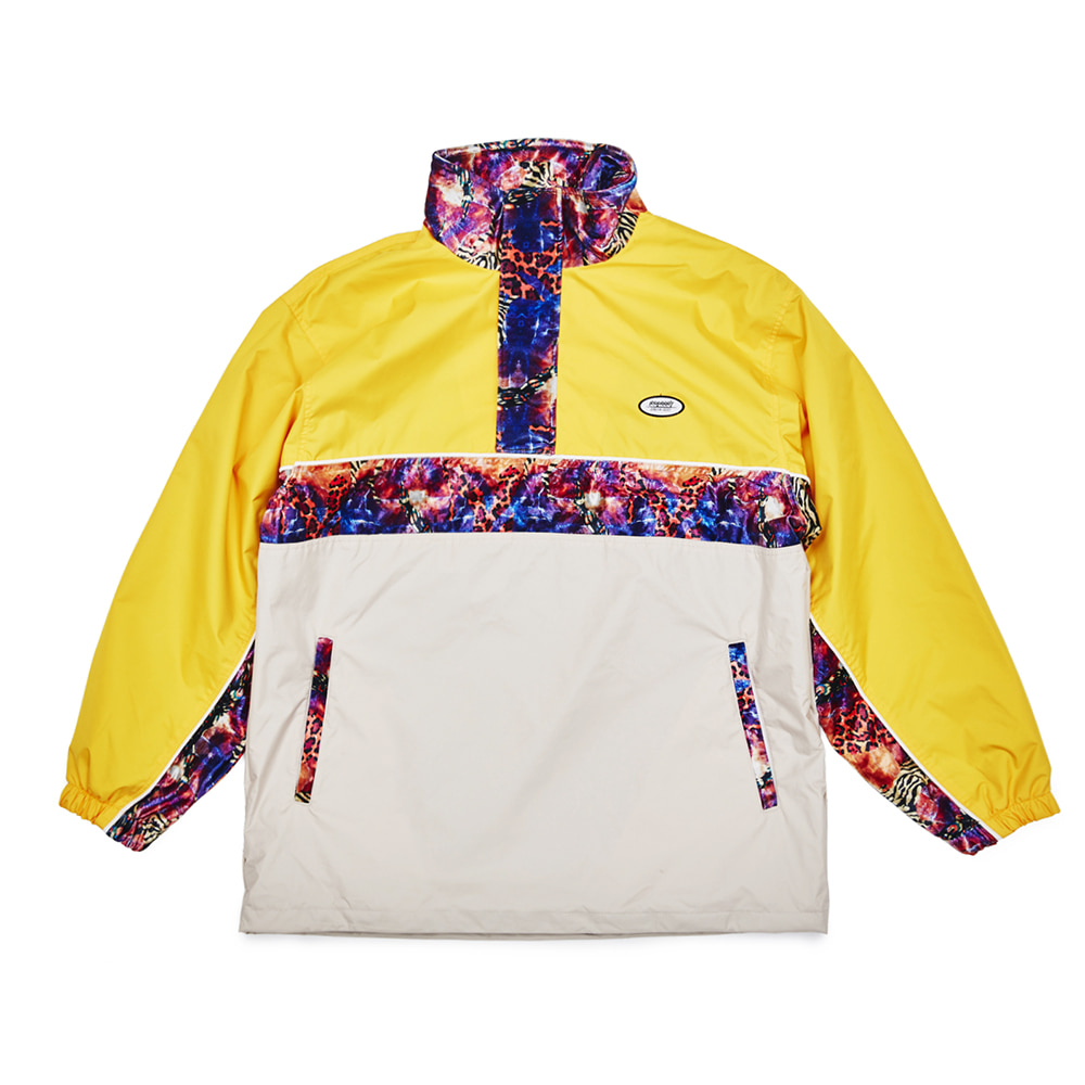 DSXBR OVER ANORAK JACKET YELLOW/BEIGE
