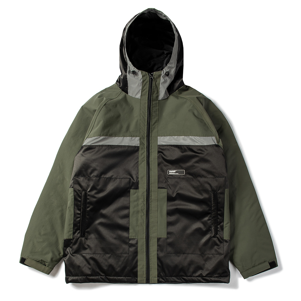 B SHINE JACKET KHAKI