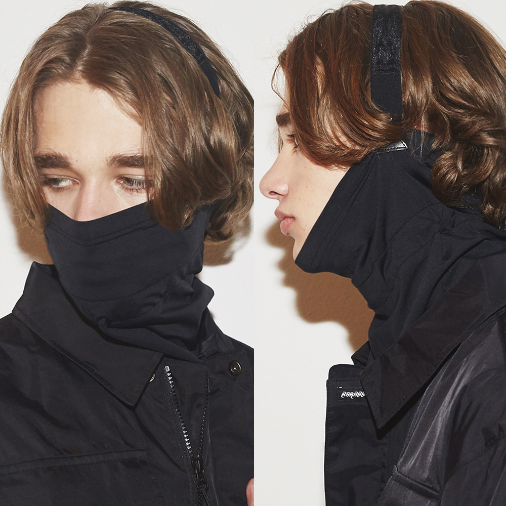 V-LINE INNER POCKET BAND BALACLAVA [No.2] [필터교체형]