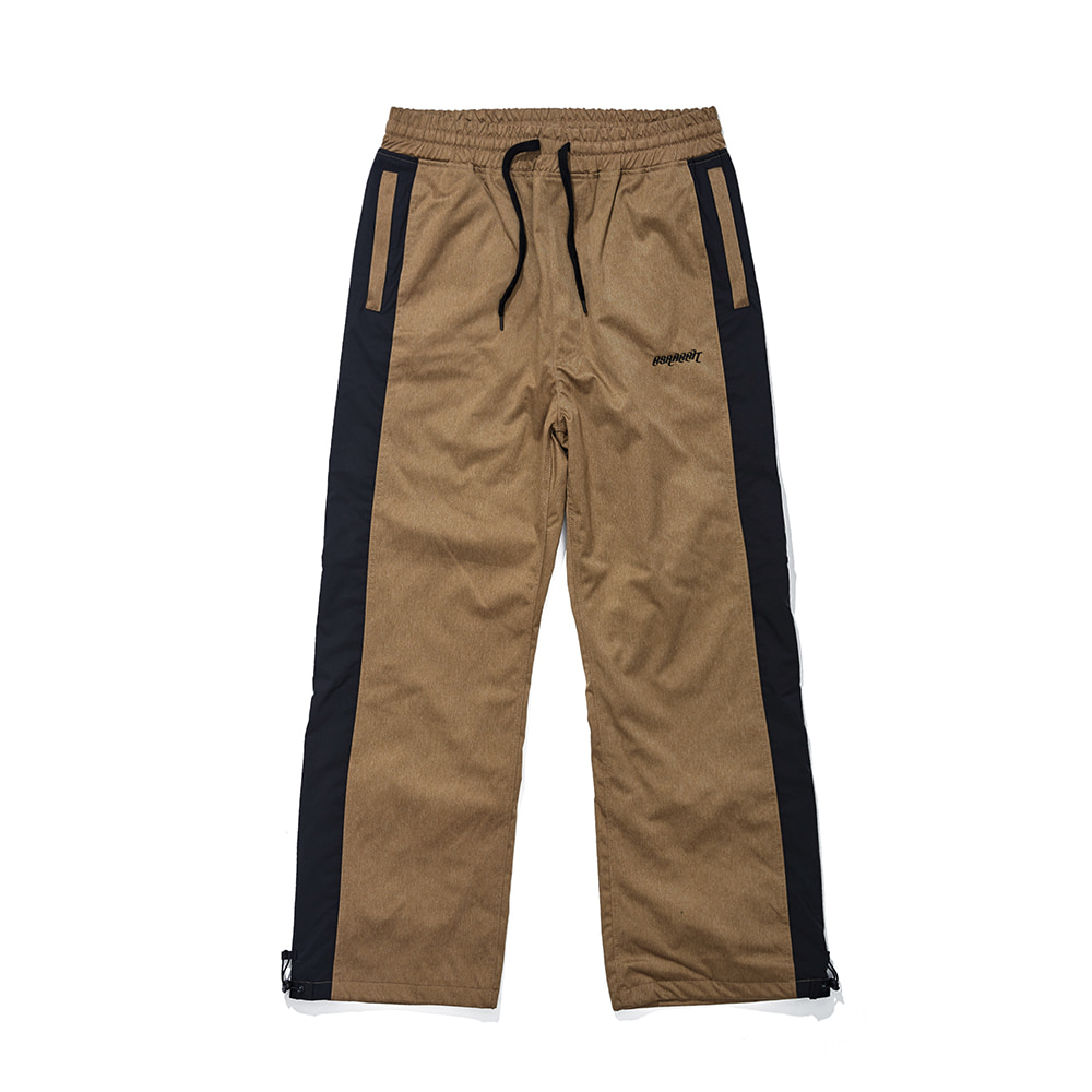 DENIM LINE TRACK PANTS BROWN [Delivery scheduled for mid-October]