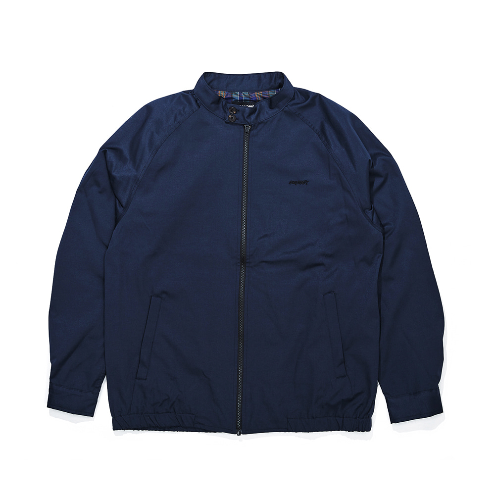 OG LOGO HARRINGTON JACKET NAVY