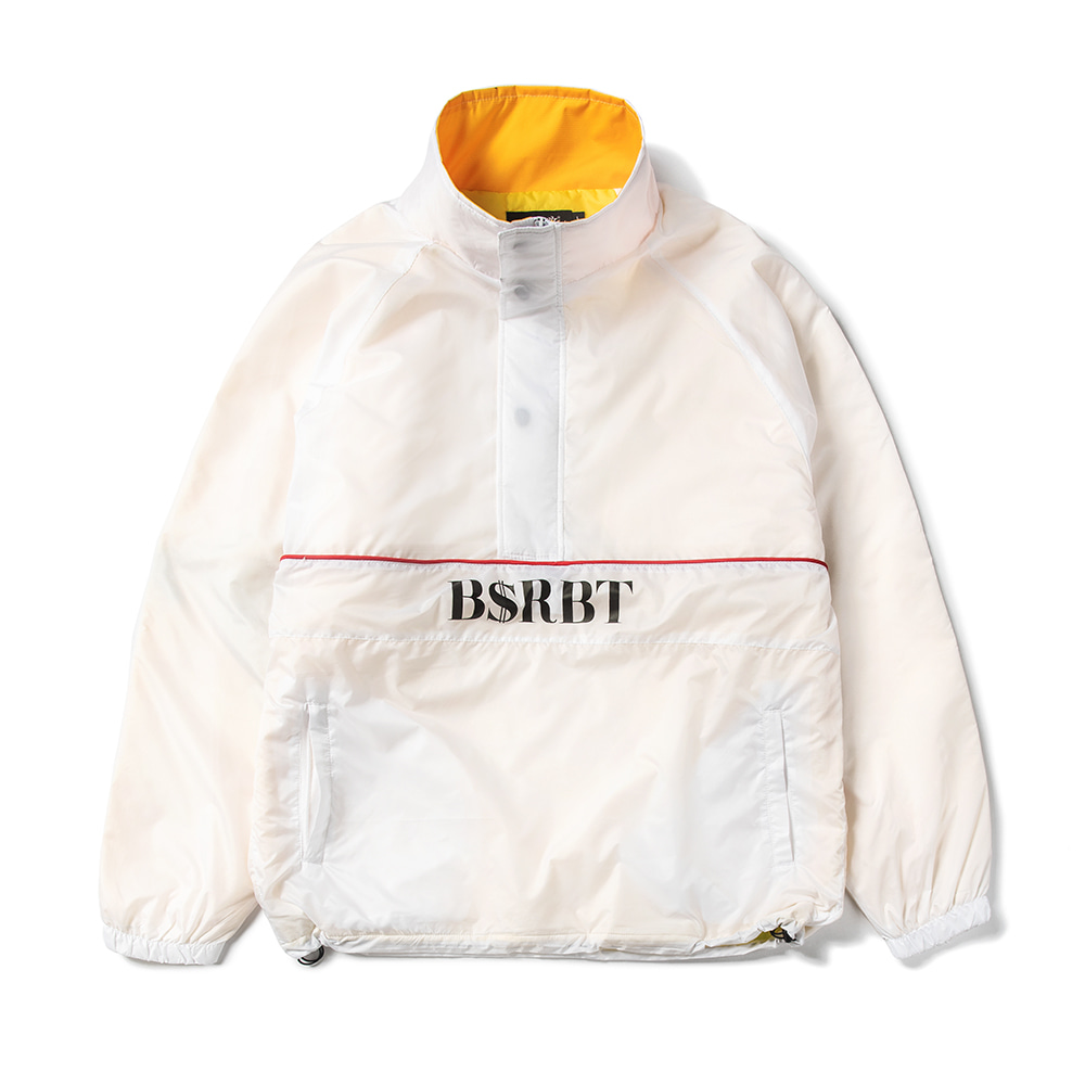 BSRBT ANORAK JACKET WHITE