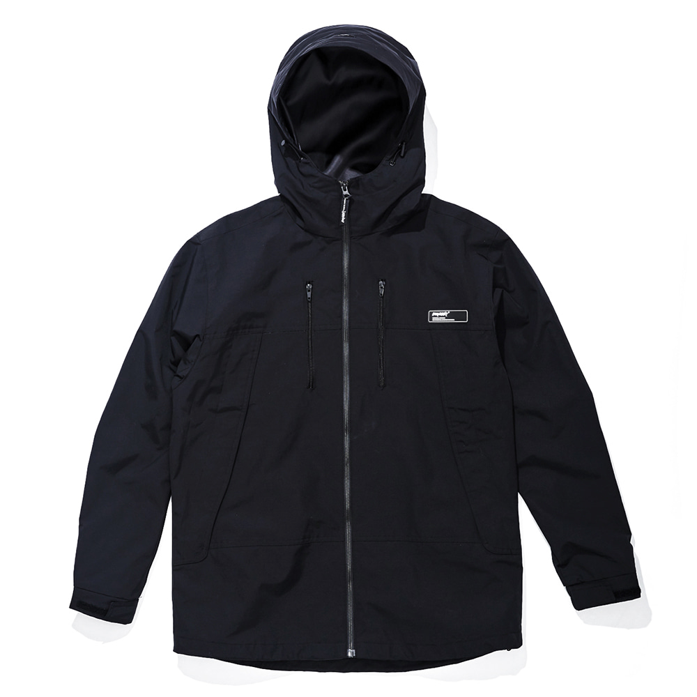 MMM WINDBREAKER JACKET BLACK
