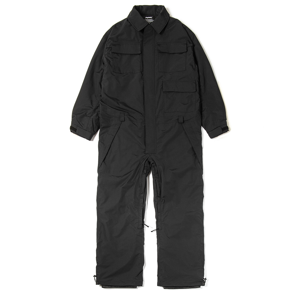 BSRABBIT JUMP SUIT BLACK