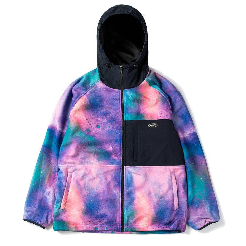 ROYAL FLEECE JACKET AURORA