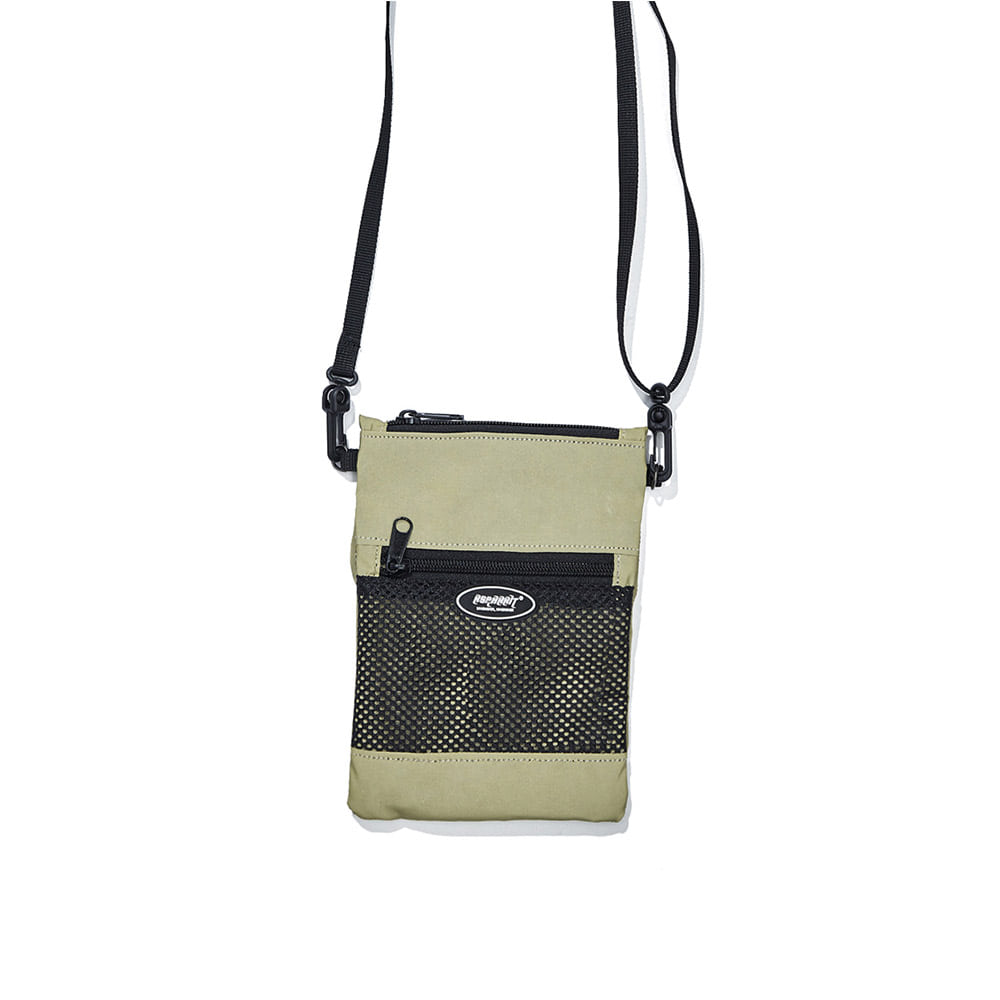 BSRABBIT MINI CROSS BAG LIME REFLECTIVE