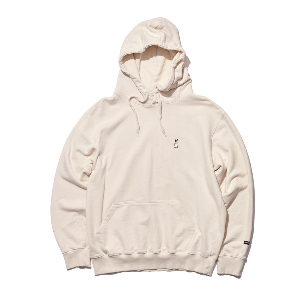 GR WELCOME DRY HOODIE CREAM