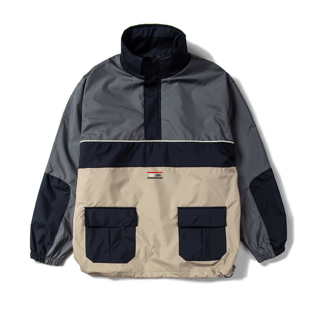 RTR ANORAK JACKET CHARCOAL
