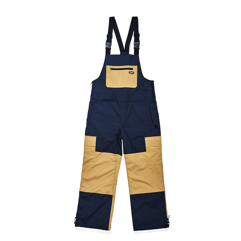 BSR SHINE BIB PANTS NAVY