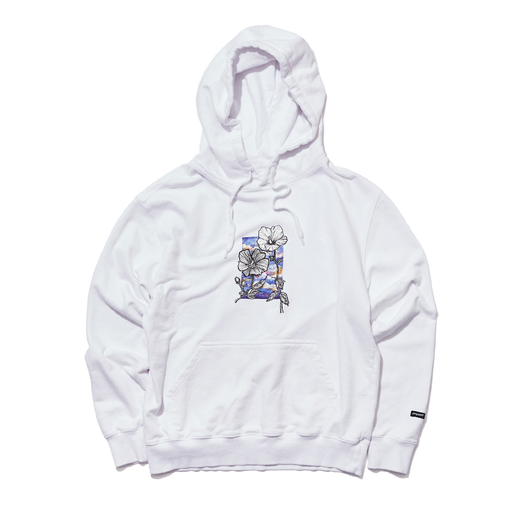 ROS SKY WELCOME DRY HOODIE WHITE