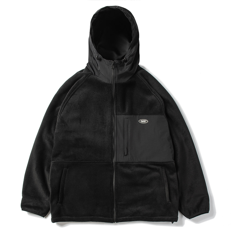ROYAL FLEECE JACKET BLACK