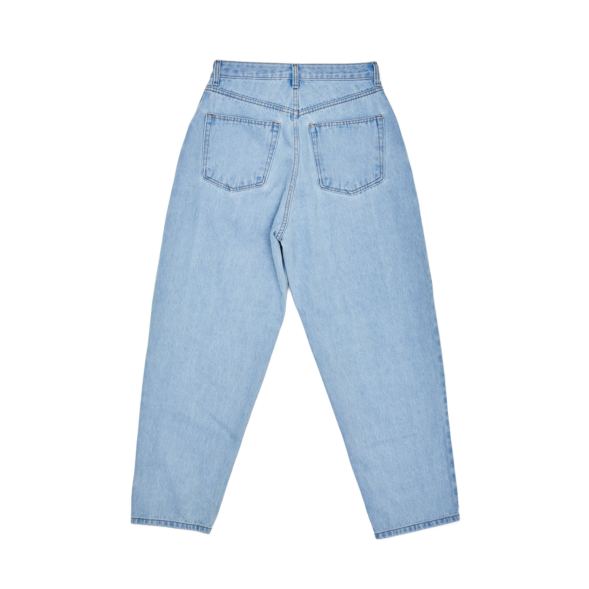 MID90S LOOSE FIT BAGGY DENIM PANTS LIGHT BLUE