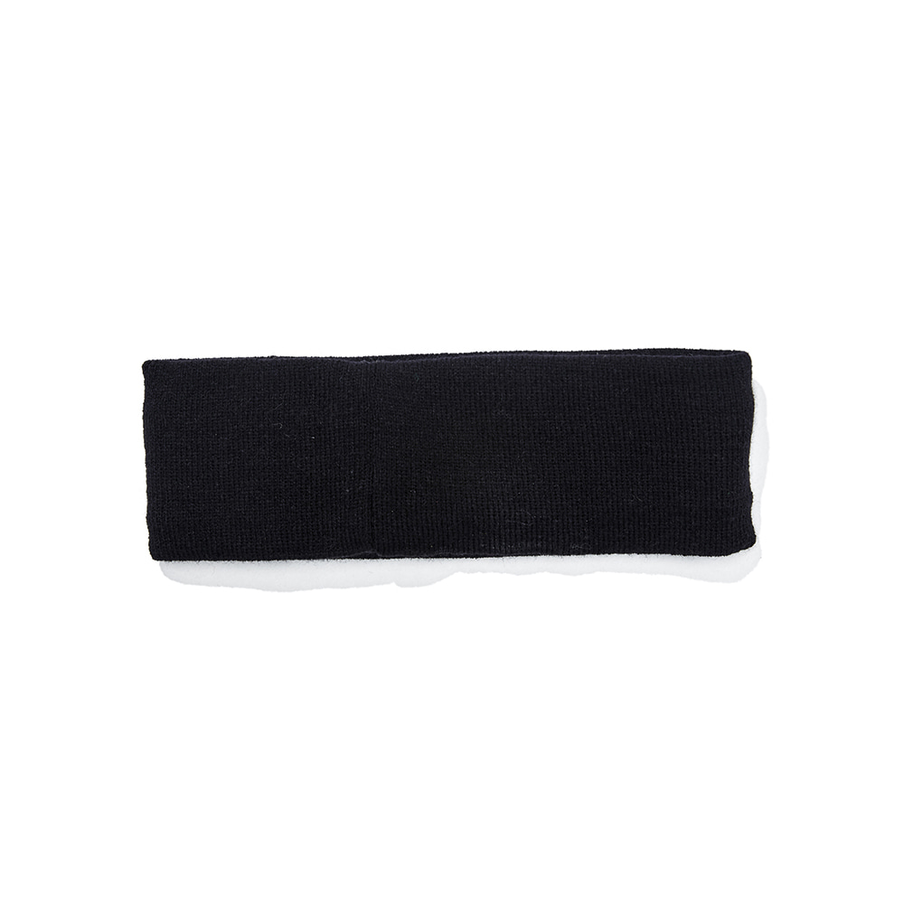 TRIPPY RABBIT HEADBAND BLACK
