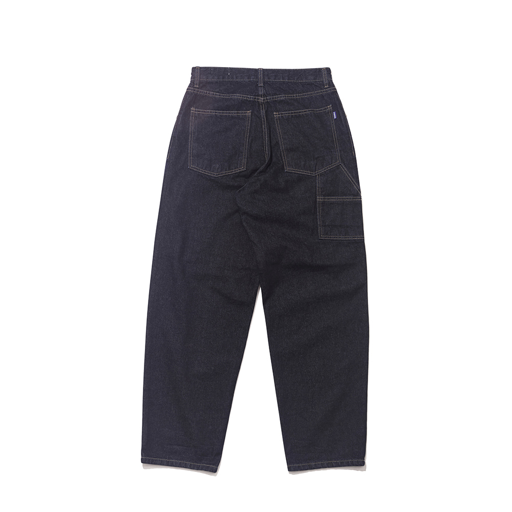CARPENTER RAW DENIM PANTS BLUE