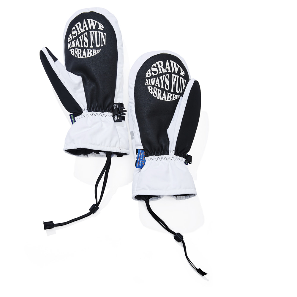 TRIPPY RB SNOWBOARD GLOVE WHITE