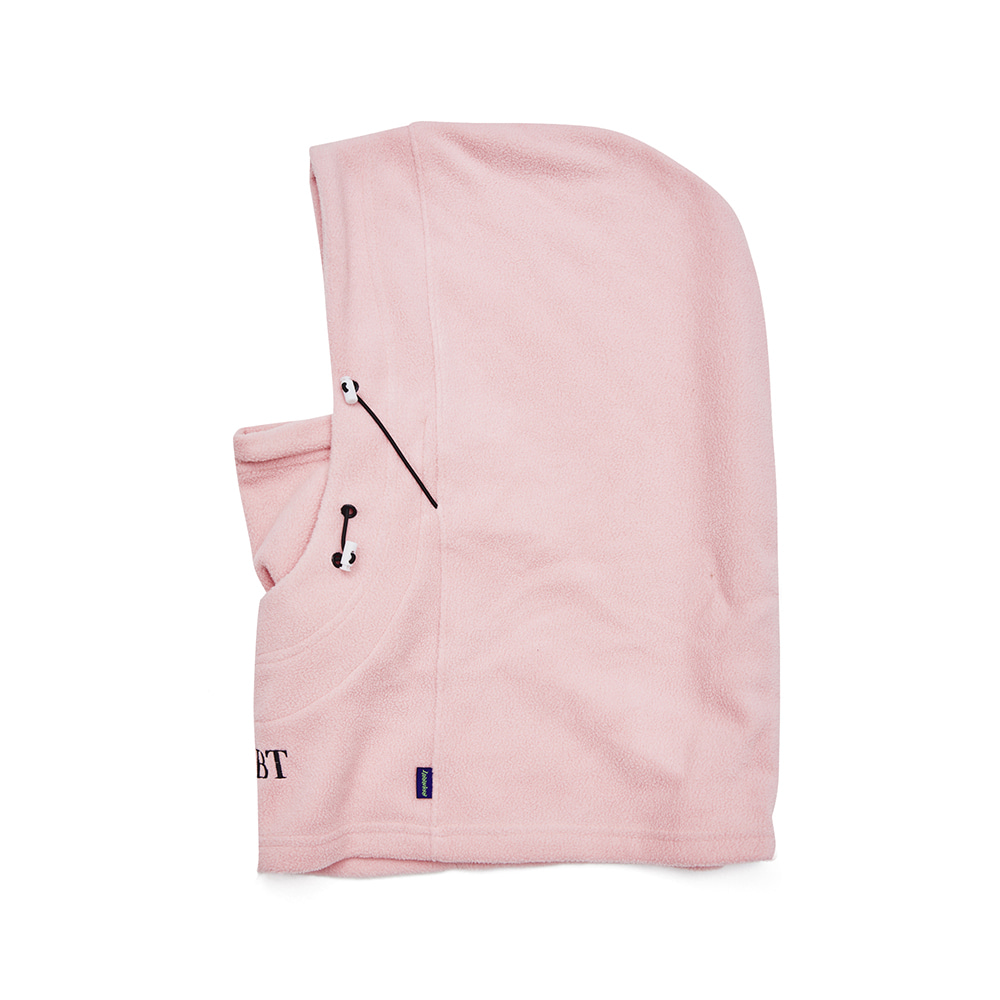 BSRBT DOUBLE STRING HOODWARMER BABY PINK