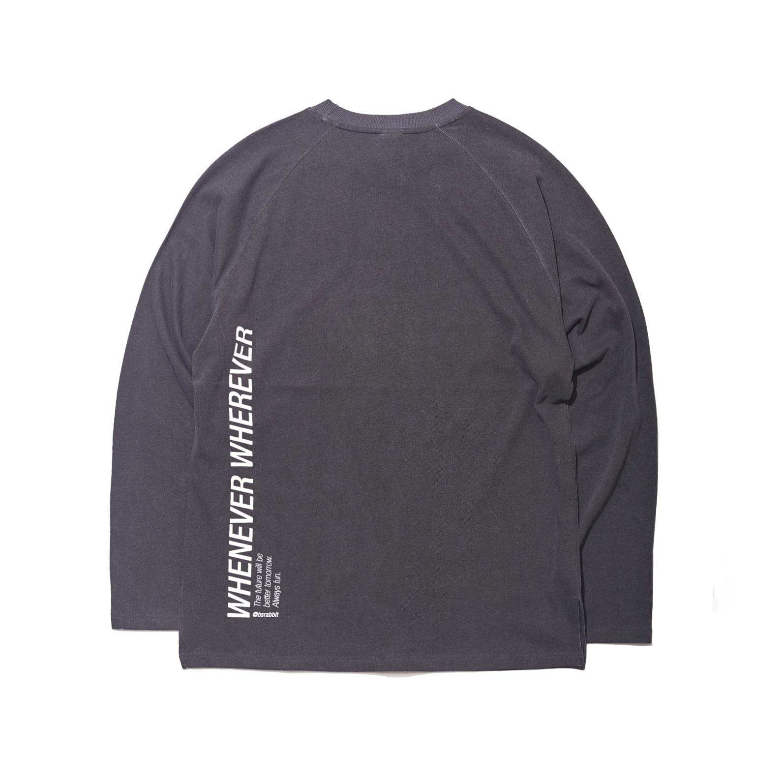 LOGO LAYERED LONG SLEEVE  TEE BLACK