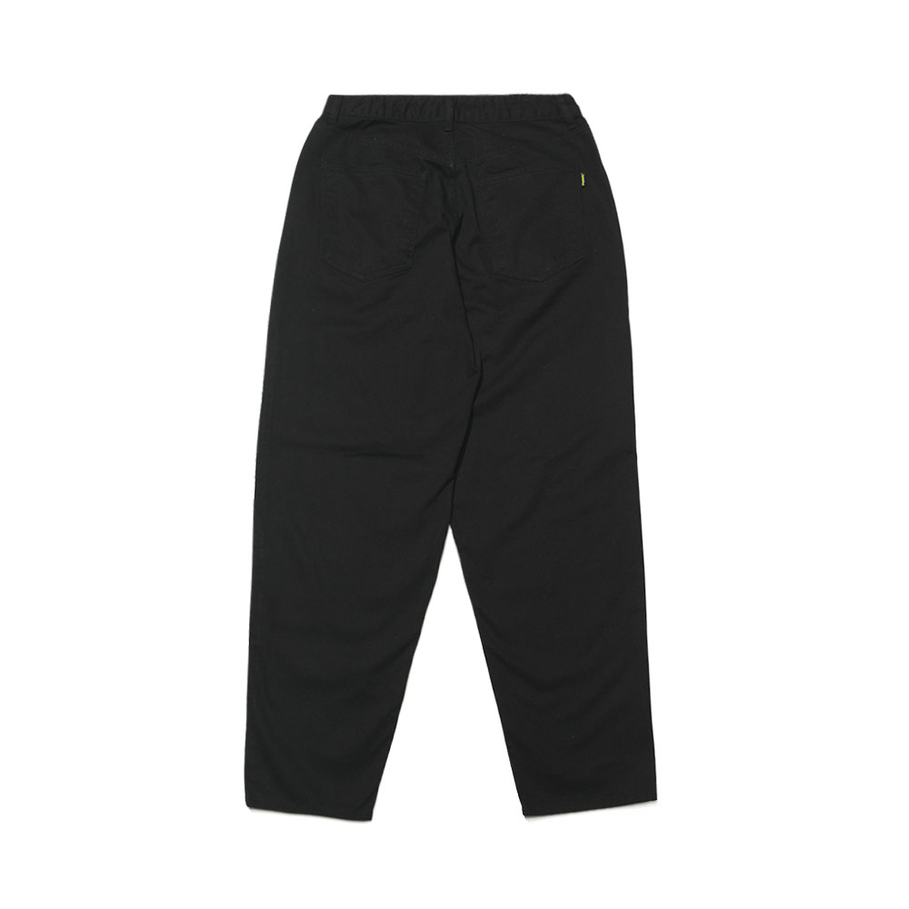 MID90S LOOSE FIT BAGGY COTTON PANTS BLACK