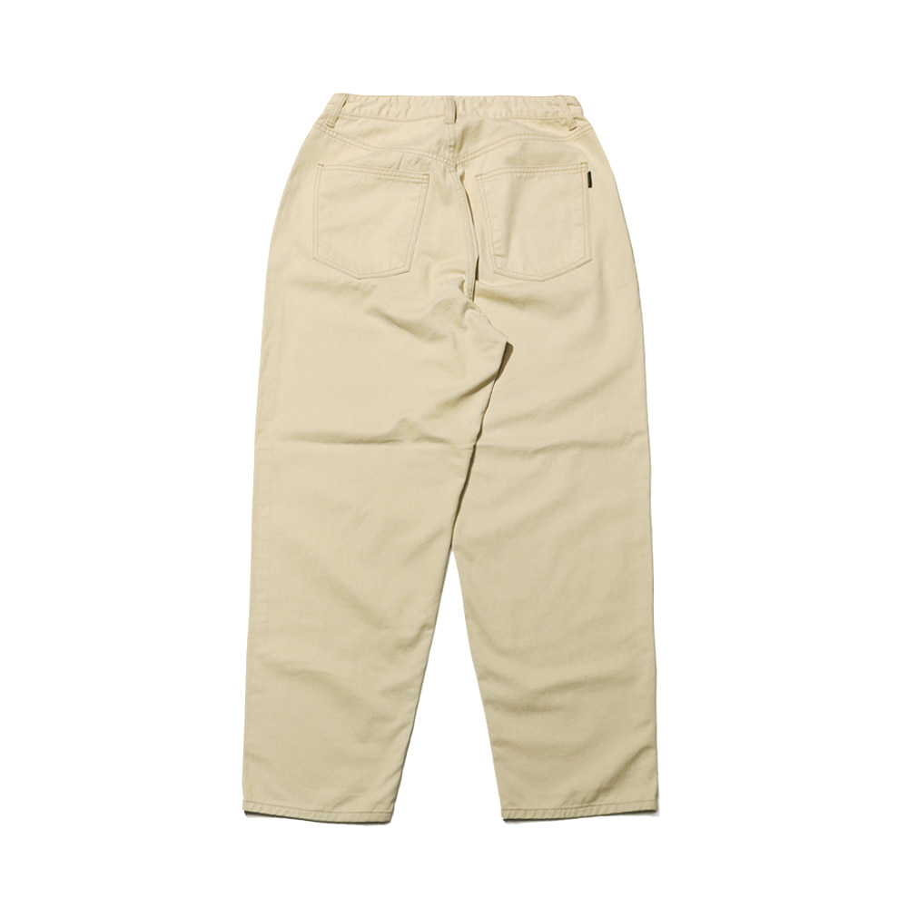 MID90S LOOSE FIT BAGGY COTTON PANTS BEIGE