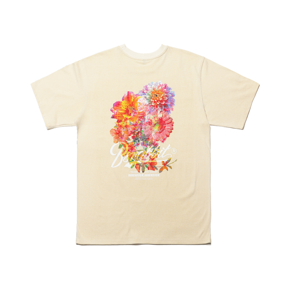 FLOWER ON MY BACK SST CREAM [Pre-order 5/11 shipment]
