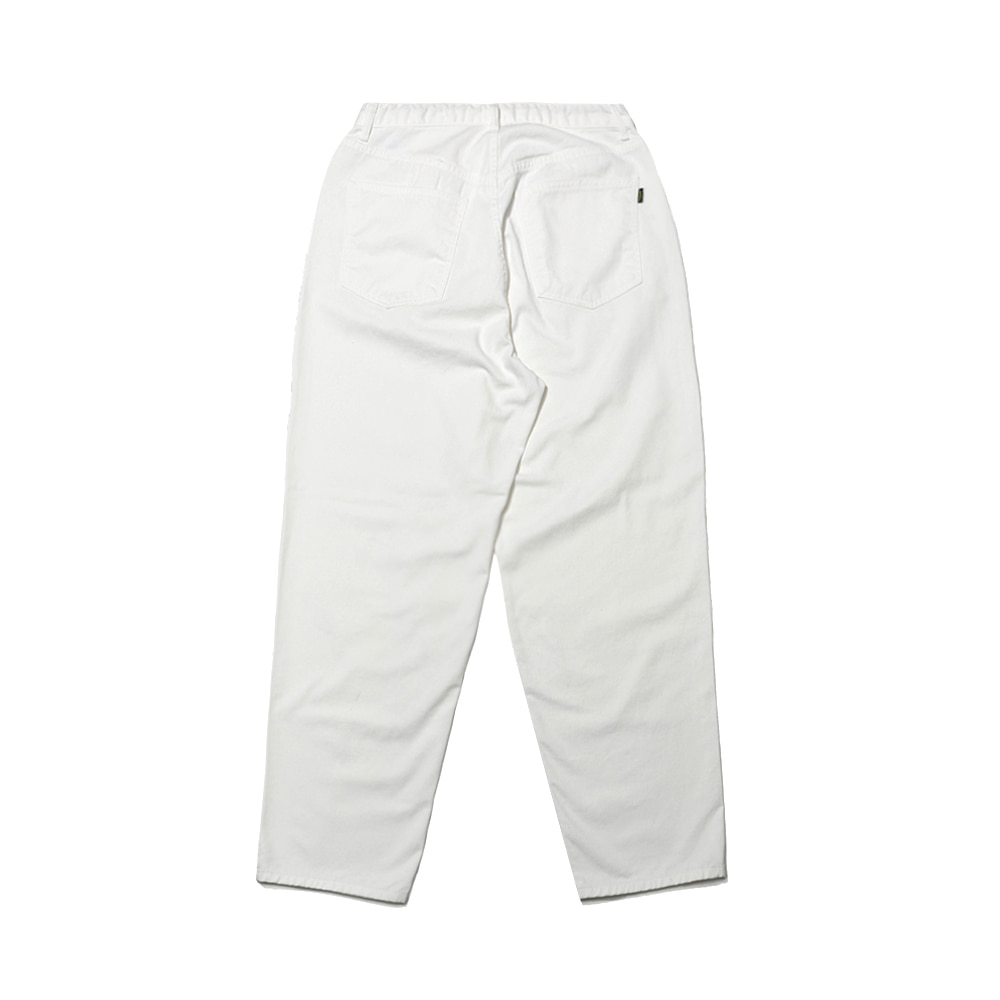 MID90S LOOSE FIT BAGGY COTTON PANTS IVORY