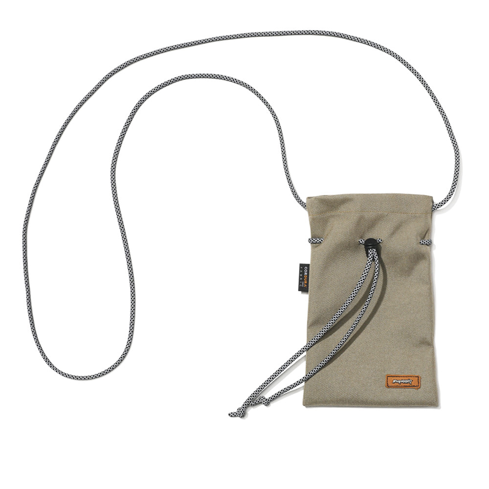 DRAW SCOTCH STRING BAG BEIGE