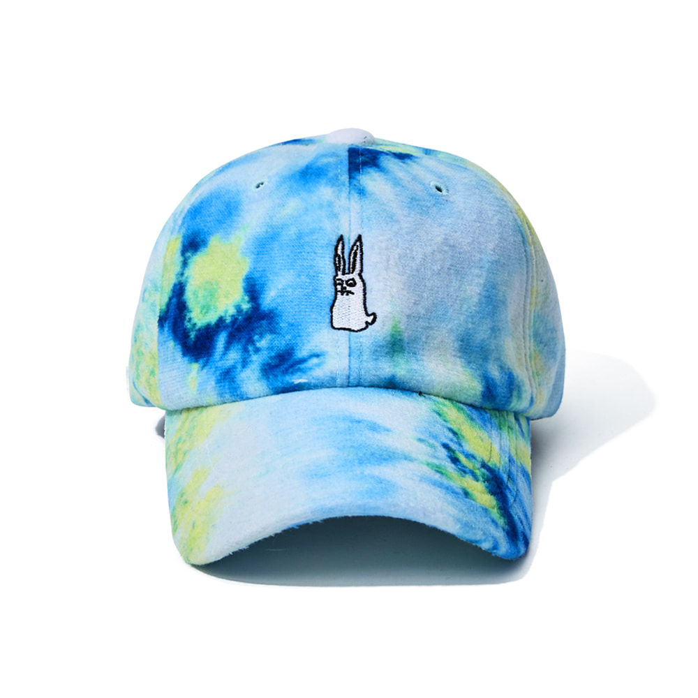 GR TIE DYE FLEECE CAP BLUE