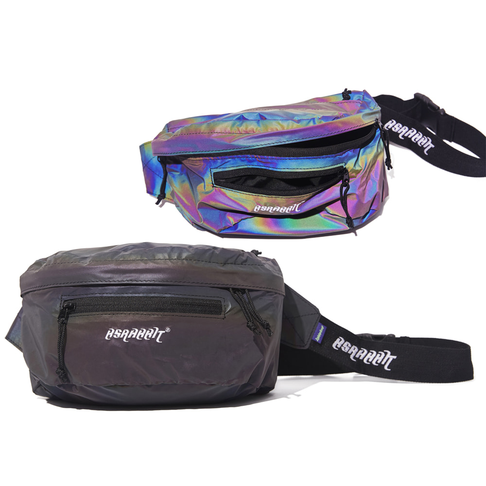 BSRBT IDEAL WAIST BAG RAINBOW REFLECTIVE