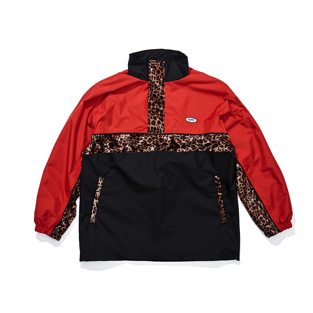 DSXBR OVER ANORAK JACKET RED/BLACK