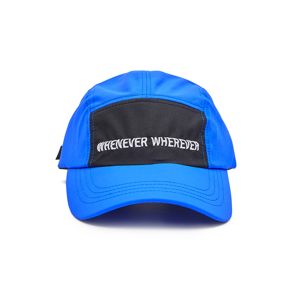 WEWE 5 PANNEL CAMP CAP BLUE