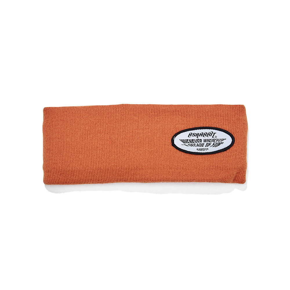 WEWE WAPPEN HEADBAND ORANGE