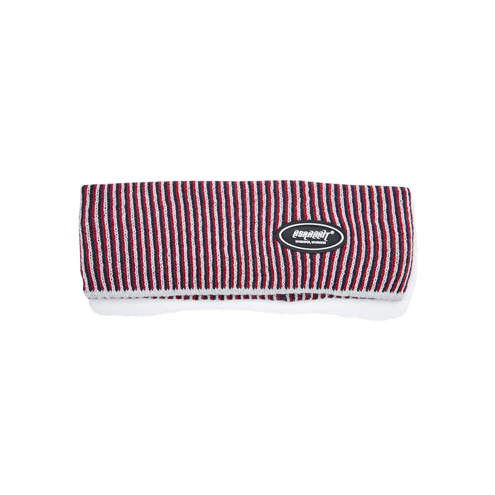 LOGO WAPPEN HEADBAND RED STRIPE