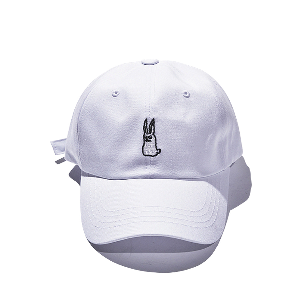 GR OPEN ZIPPER CAP WHITE