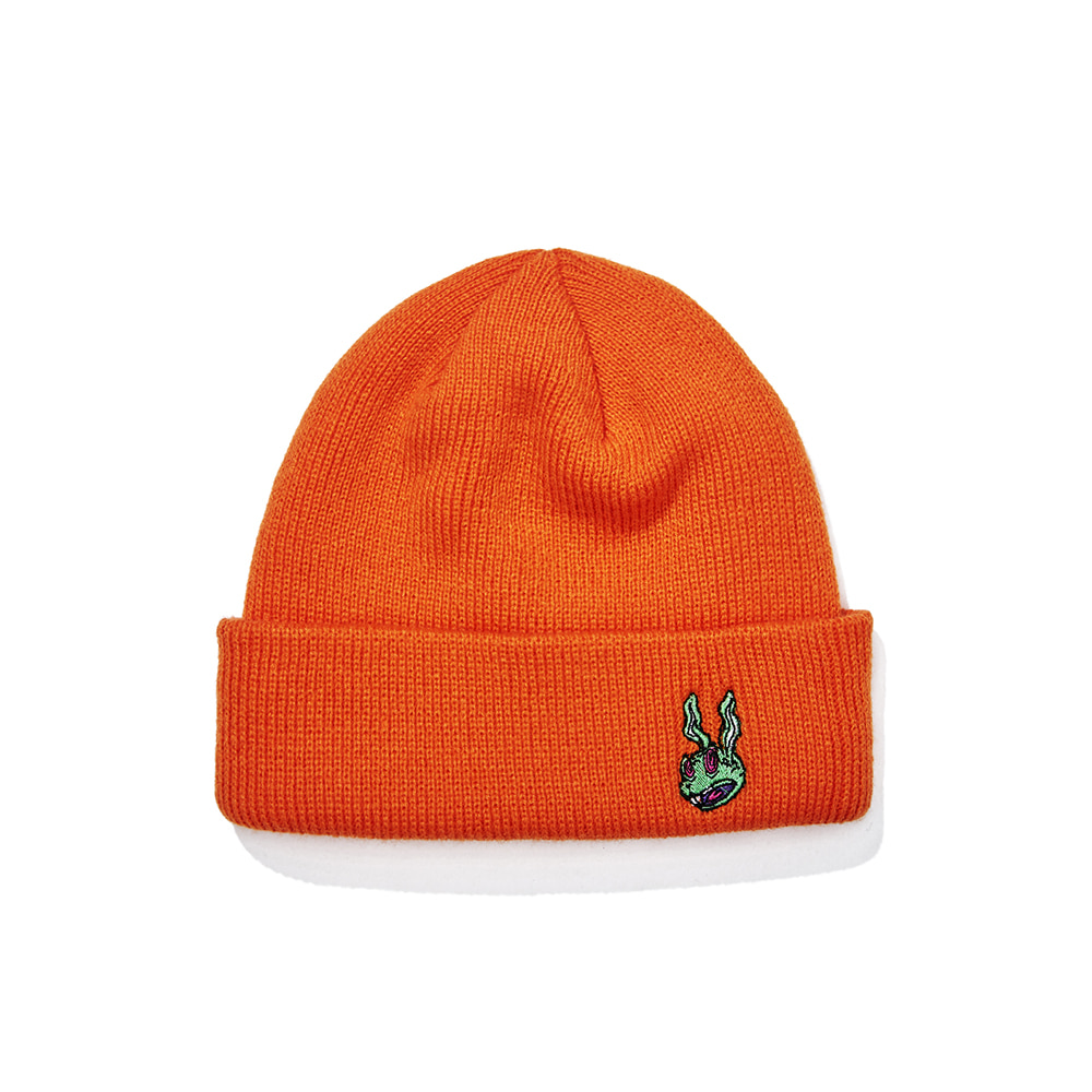 TRIPPY RABBIT BEANIE ORANGE