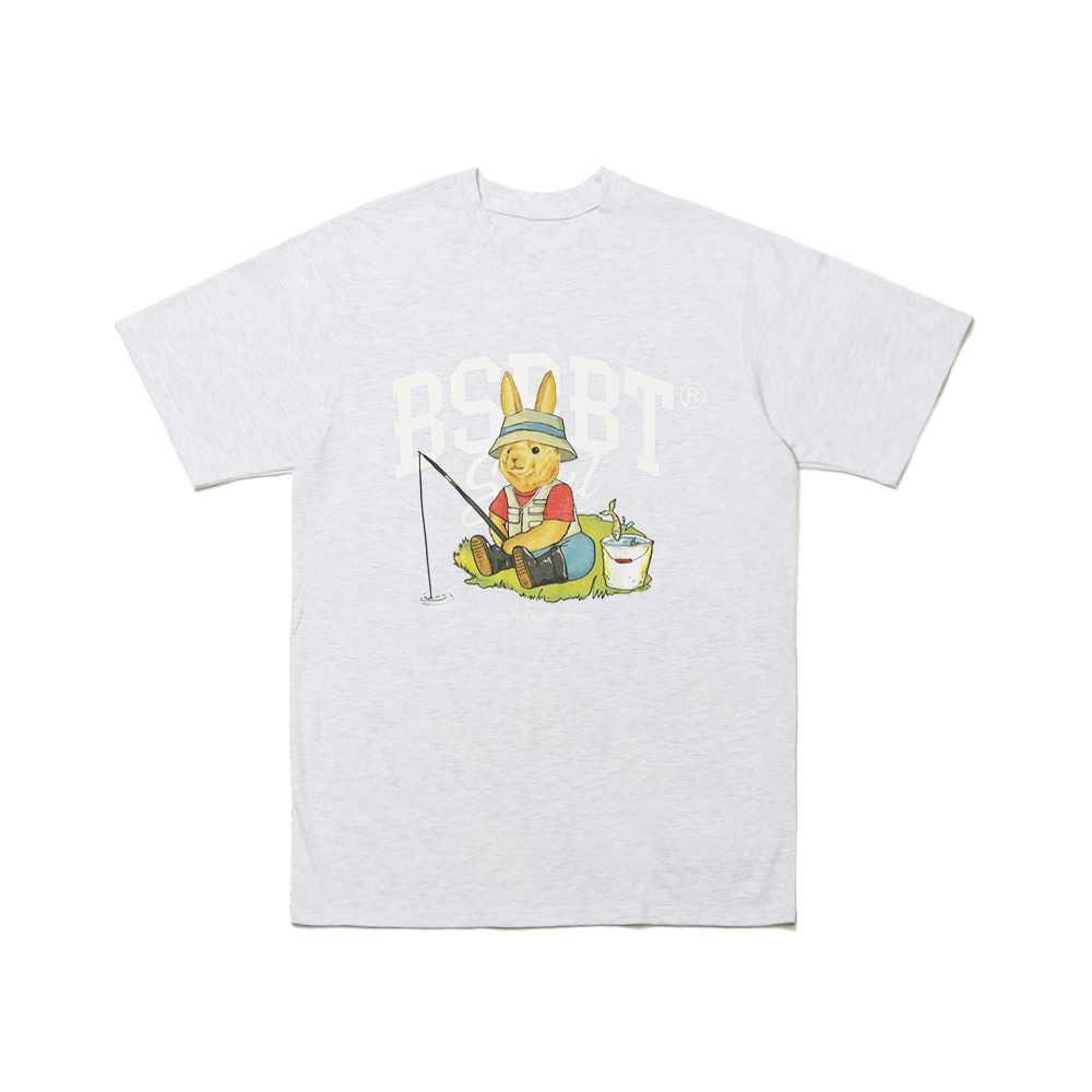 FISHING RABBIT SST LIGHT GRAY [Pre-order 5/11 shipment]