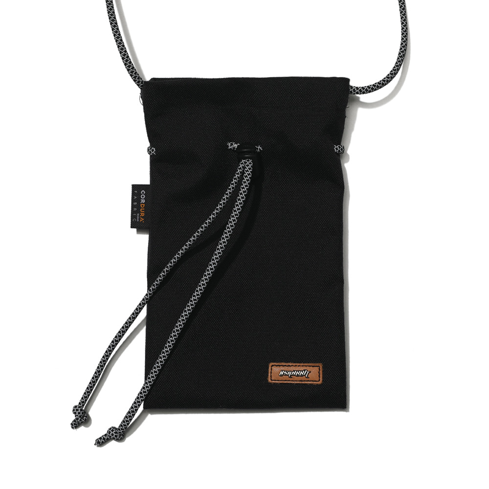 DRAW SCOTCH STRING BAG BLACK