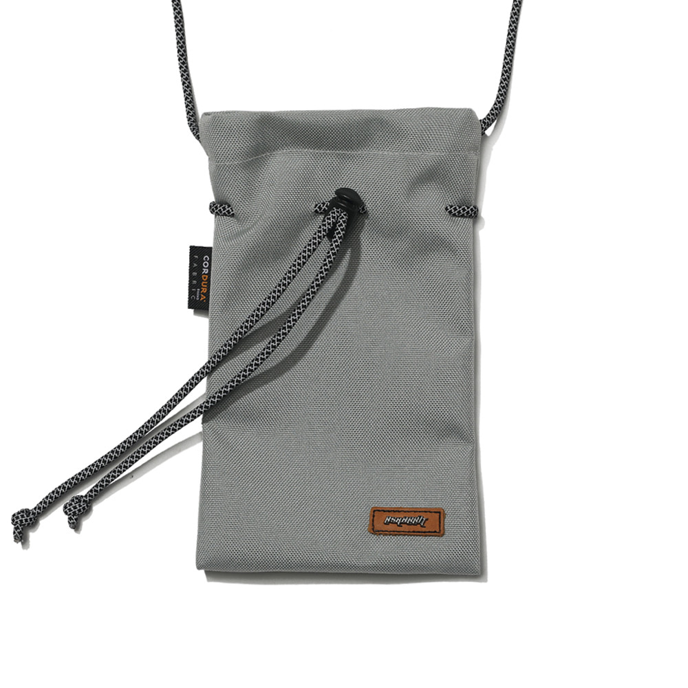 DRAW SCOTCH STRING BAG GRAY